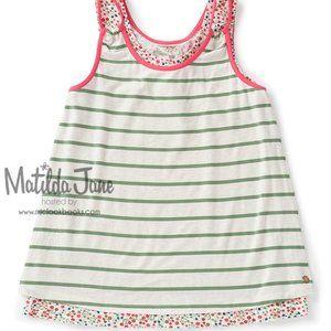 Matilda Jane Garden Variety stripe floral tank top
